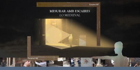 """Exposició Mesurar amb escaires """"lo medieval"""" en el COAC"""
