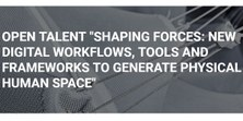 Conferencia de Christoph Gengnagel: Shaping Forces: New Digital Workflows, Tools and Frameworks to Generate Physical Human Space