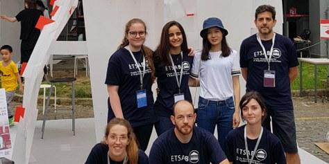 Segon Premi al 2018 Tongji International Construction Festival